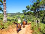 cavalgada em Santo Antônio do Pinhal