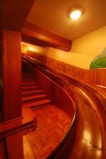 escorregador de madeira, Hotel Toriba