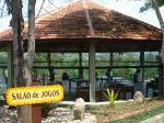 Hotel Estância Atibainha -salão de jogos