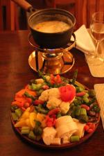 Fondue de Legumes - Hotel Toriba