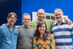 Espa�o LuzAzul (Campos do Jordão SP) da esquerda para direita Paulo Bustamante, André Wagner, Eduardo Miguel, Rizzi Tani e Oskar kedor - foto Jayro Lemos