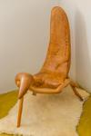 Espa�o LuzAzul (Campos do Jordão SP) cadeira em madeira Eduardo Miguel - foto Jayro Lemos